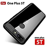 #7: Mobistyle Ultra Thin Shock Proof Autofocus Back Cover Case For One Plus 5T / Oneplus 5T (Black)