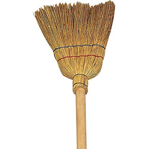 Verdelook scopino bimba tradizionale in saggina - dimensioni 70 cm pulizia casa mobili