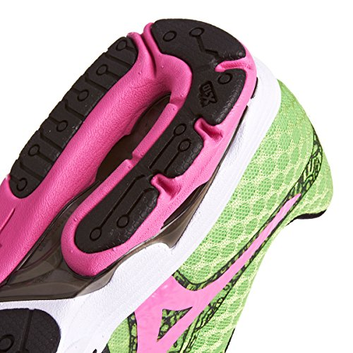 Mizuno Wave Sayonara Wos Damen - Grün/Pink