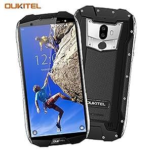 Telefono Cellulare in Offerta,OUKITEL WP5000 4G LTE Smartphone-6GB RAM+64GB ROM,5,7 pollici Schermo (rapporto 18: 9) IP68 Impermeabile Cellulare Antiurto,Android 7.1 Helio P25 Octa Core,Fotocamera Posteriore 16MP+5MP Frontale 8MP,Dual SIM smartphone,5200mAh,GPRS(Nero)