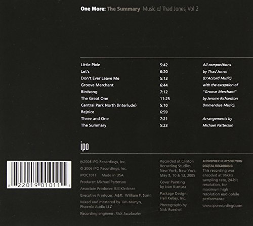 Zoom IMG-1 summary music of thad jones