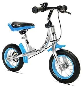 WeeRide Kids First Balance Bike - Silver, 10 Inch
