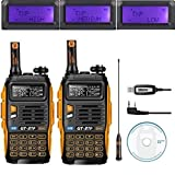 Baofeng GT di 3TP Mark III 8 W 2 m/70 cm UHF/VHF Dual Band mano dispositivo Radio (2 PCs with...