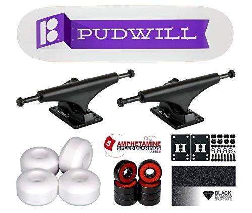 Plan B Torey Pudwill Fold Komplett Skateboard 8.12 (Plan B Skateboards Pudwill)