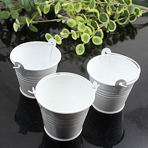 Weimanshop Lot de 10 Pcs Mini Bucket Mini Seaux Colorés