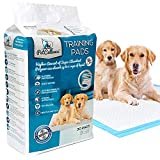 PetCellence Puppy Training Pad 30 Pack - Doggy Urine Pads for Car Seat, Dog Bed, Food Bowls, Litter Box and Crate - Large Leak-Proof Floor Protection Mat for Incontinent Puppies - 60 cm x 60 cm