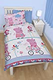 Character world Peppa Pig Tweet Single Rotary Duvet Set