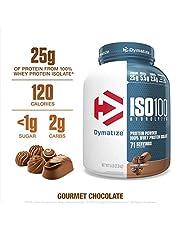Dymatize Nutrition ISO 100 - 5 Lbs (GOURMET CHOCOLATE)