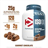 Dymatize Nutrition Iso 100 Whey Protein Powder (5 Lbs, Gourmet Chocolate)