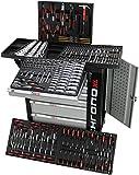 Exclusive Edition Chrono XL * Werkzeugwagen * Werkstattwagen * 7 Schubladen / 6 gefüllt mit Handwerkzeug   Bit Sets, Ratschen, Nüsse und vieles mehr...