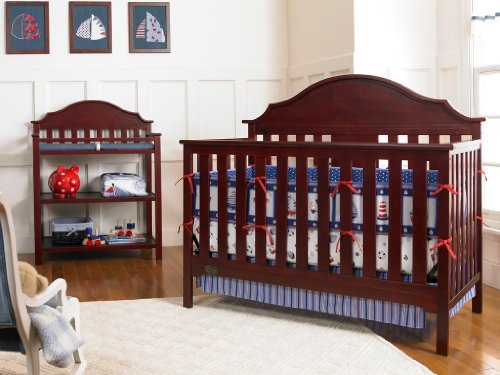 serta-hanover-fixed-side-convertible-crib-classic-cherry-discontinued-by-manufacturer-by-serta