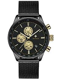 2431e66b70c5 WWOOR Store - Reloj de Pulsera para Hombre
