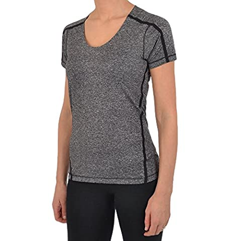 Reebok Crossfit Damen Slim Fit T-Shirt Small schwarz