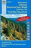 Naturpark Oberer Bayerischer Wald - Ost 1 : 50...