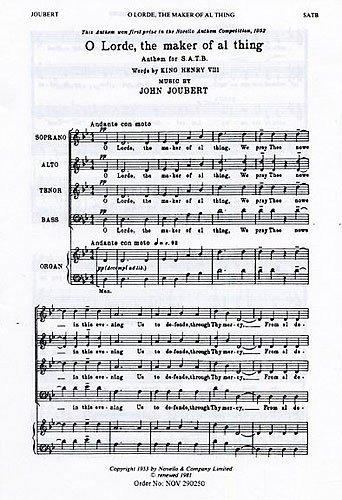 john-joubert-o-lorde-the-maker-of-al-thing-for-coro-satb-accompagnamento-di-organo