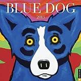 Blue Dog 2013 Wall Calendar