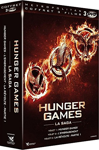 Hunger Games + Hunger Games 2 : L'embrasement + Hunger Games - La Révolte : Partie 1