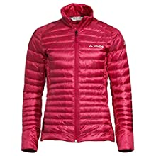 VAUDE Women's Kabru Light Jacket IV, Cranberry, 34