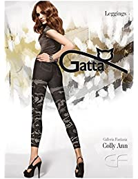 Gatta Colly ANN 18–trendy, opaque Camouflagelook Leggings