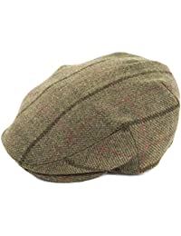 Failsworth Hats Gamekeeper Flat Cap - Dark Check