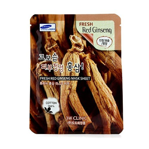 3w-clinic-mask-sheet-fresh-red-ginseng-10pcs