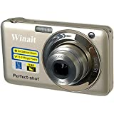 Winait V600 Digitalkamera 2,7-Zoll Display 15 Megapixel 5 x optischer Zoom