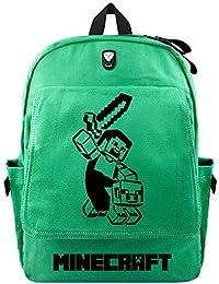 Preisvergleich für AmanGaGa Minecraft Kinderrucksäcke Schüler Lässige Sport Outdoor Rucksäcke Rucksack für Kinder und Jugendliche...