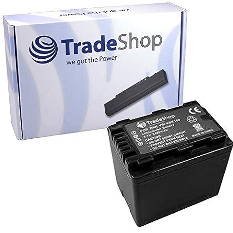 Hochleistungs Kamera Li-Ion Akku 3,6V / 3,7V mit Infochip für Panasonic HDC SD-40 SD-60 SD-66 SD-80 SD-90 SD-99 SDX1 SDX-1 HS60 HS80 HS-60 HS-80 TM40 TM55 TM60 TM80 TM90 TM-40 TM-55 TM-60 TM-80 TM-90