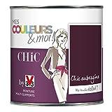 Peinture de décoration murale - acrylique - Satin Velouté - 0,5L...