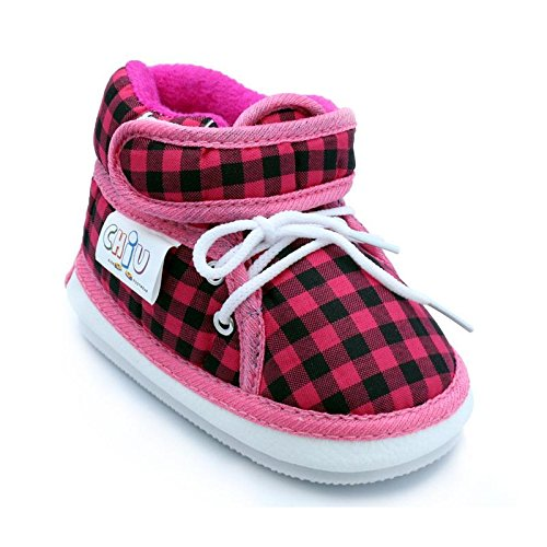 Chiu Pink Color Velcro with Lace Whistle Musical Outdoor First Walking Shoes 12-16 Months  available at amazon for Rs.179
