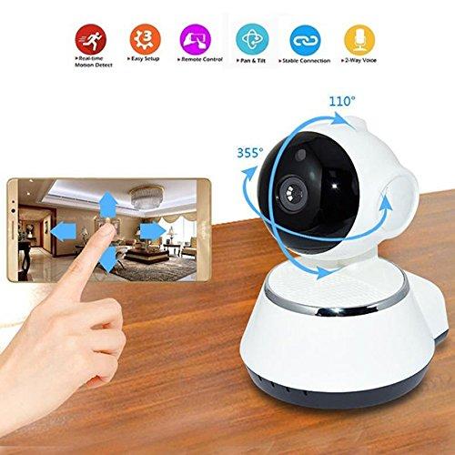Springdoit Surveillance de caméra réseau Intelligent WiFi HD sécurité de la Maison de la caméra IP...