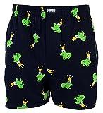 Happy Shorts Webboxer Herren Boxer Motiv Boxershorts Farbwahl, Grösse:L - 6-52, Präzise Farbe:Design 1