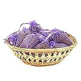 PAJOMA 30870 10er Pack Duftsäckchen Lavendel, Organzabeutel, Höhe 9cm