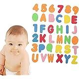 MMRM 36pcs alfanumérico Cartas Bañera puzzle Niños divertido EVA flotante juego juguete