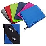 Zoegate Mikrofaser Handtücher, XL XXL Mikrofaserhandtuch Reisehandtuch perfekte Sporthandtuch, Microfaser Badetuch Strandhandtuch, Sauna Reinigungstuch Schnelltrocknend, weich, leicht, saugfähig
