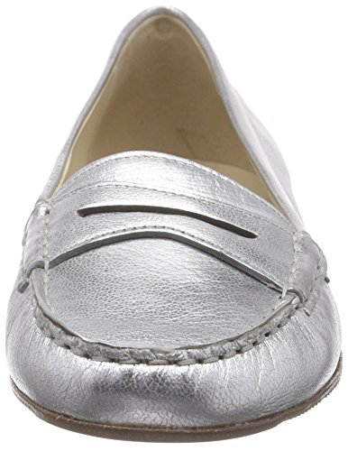 Sioux Selbia-101, Mocassins femme Argent - Silber (silber)