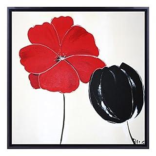 Bildershop 24 9005 Oil Painting 60 x 60 cm Multi-Coloured
