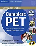 Complete PET for Spanish Speakers Student's Book with Answers with CD-ROM by Emma Heyderman (2011-05-30)