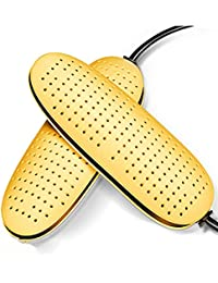 GYHDDP Weiß Einstellbare Spitzen-Kopf Schuhe Trockner Backen Schuhe Winter Anti-Power Schuhe Sock Trockner (Farbe : White-14cm)