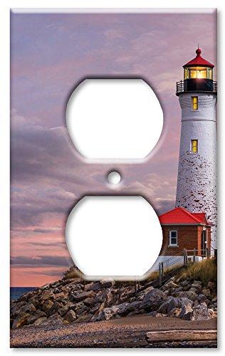 Art Plates Schalter/Wandplatte - Leuchtturm von MI Outlet