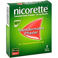 Preisvergleich für Nicorette TX 25 mg Pflaster, 7 St.