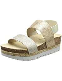Jane Klain281 331 - Sandali con Tacco Donna amazon-shoes beige Estate