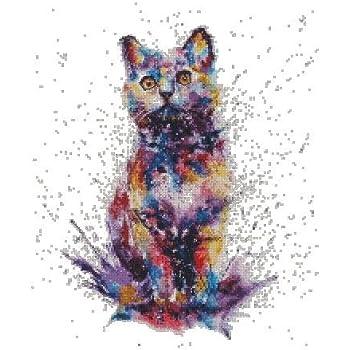 Alisa Counted Cross Stitch Kit British Cat S0-134