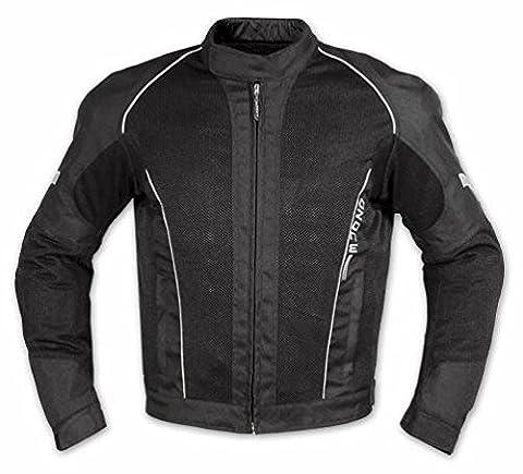 Eté Blouson Textile Touring Sport Moto Scooter Mesh Doublure Impermeable