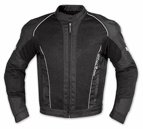 Textiljacke Atmungsaktiv Mesh Durchloechert Motorrad Protektoren Schwarz M (Mesh-tech Motorrad-jacke)