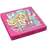 Barbie Popstar Party Servietten Kindergeburtstag Mädchen