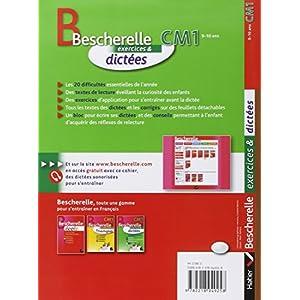 Bescherelle. CM1. Exercices & dictées. Per la Scu