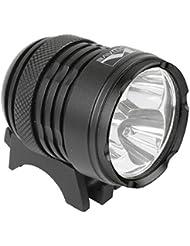M-Wave Fahrradlampe Apollon Ultra 2500, Schwarz, 220763.0