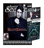 Sonic Seducer 02-2017 mit Blutengel Titelstory (10 Seiten) + Gothic Taschenkalender 2017 (insg. 336 Seiten) + CD, Bands: