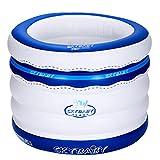 Tianyi Yugang Runde Badewanne für Erwachsene Tragbare Badewanne für Kinder Verdickte aufblasbare unabhängige Tragbare mit Komfortablen Hochwertigen Weichen Sicherheit Badewanne PVC